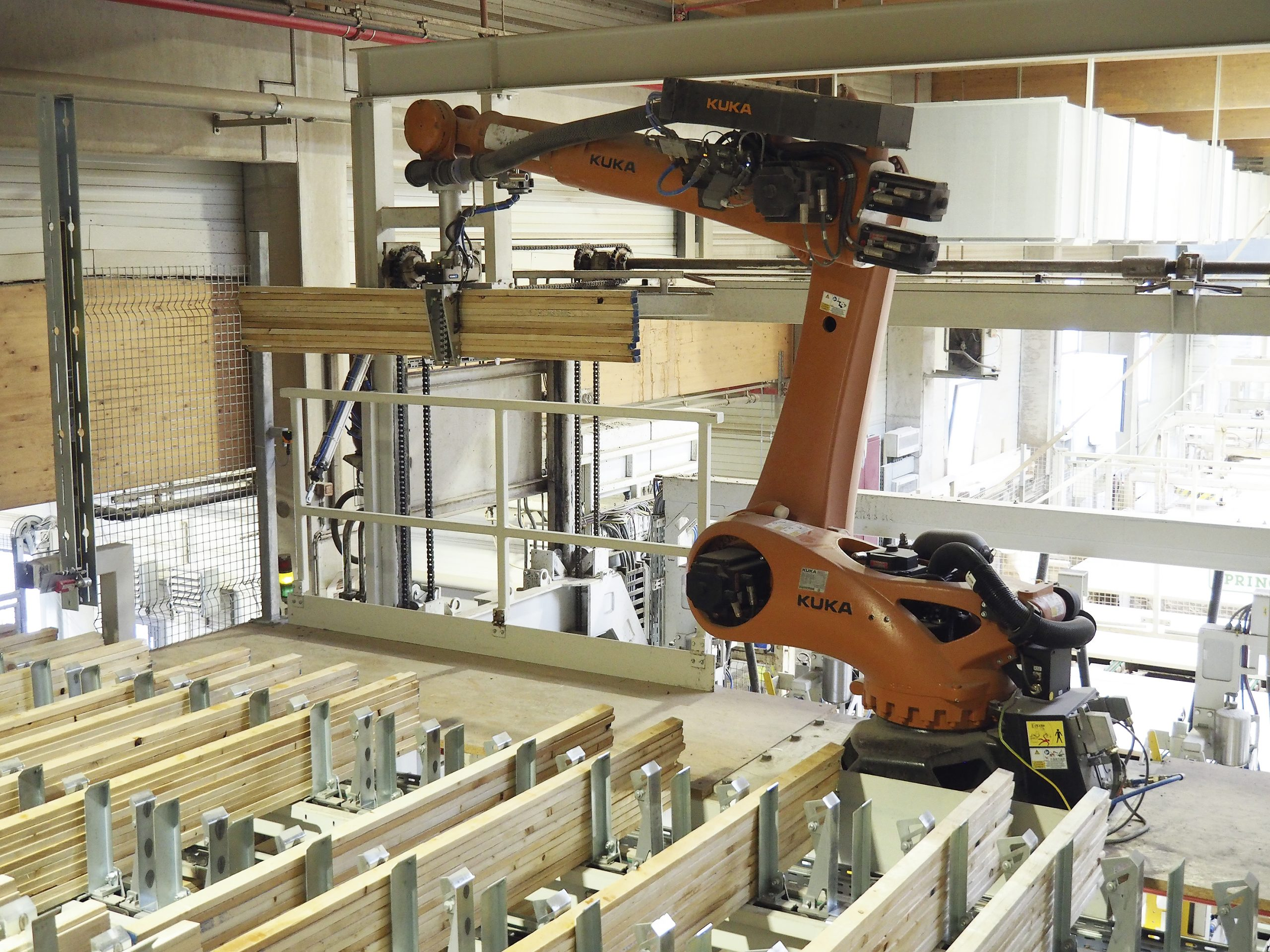Befüllung Leistenmagazine mit Roboter